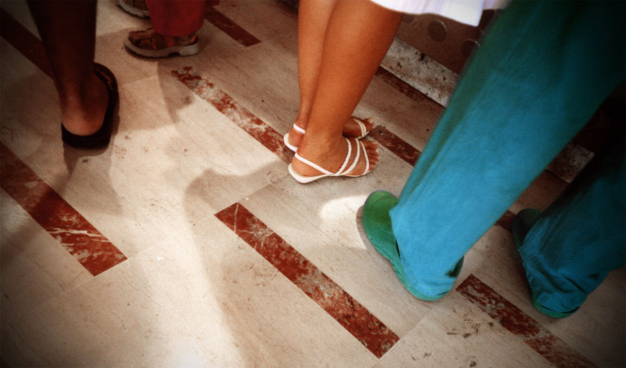 Flirting Feet