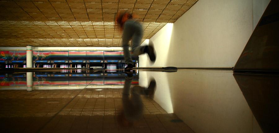 At the Bowling