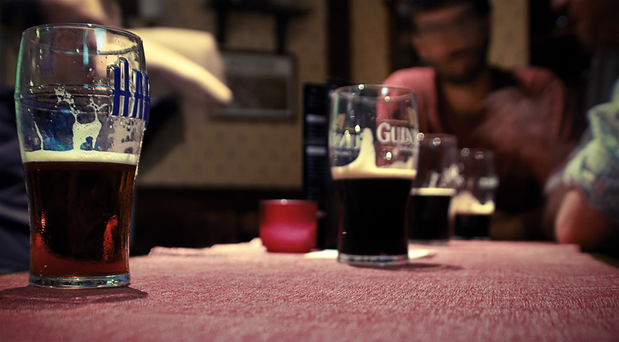 Half-Filled Pints