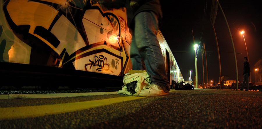 No Flash / Graffiti #1