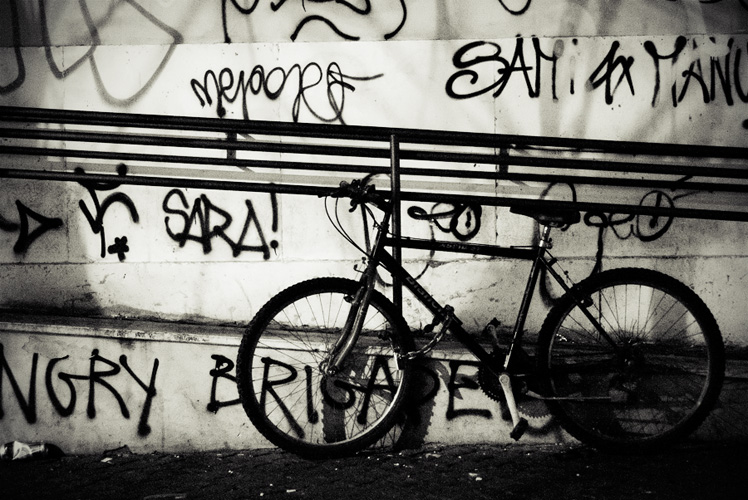 Bike And Signs