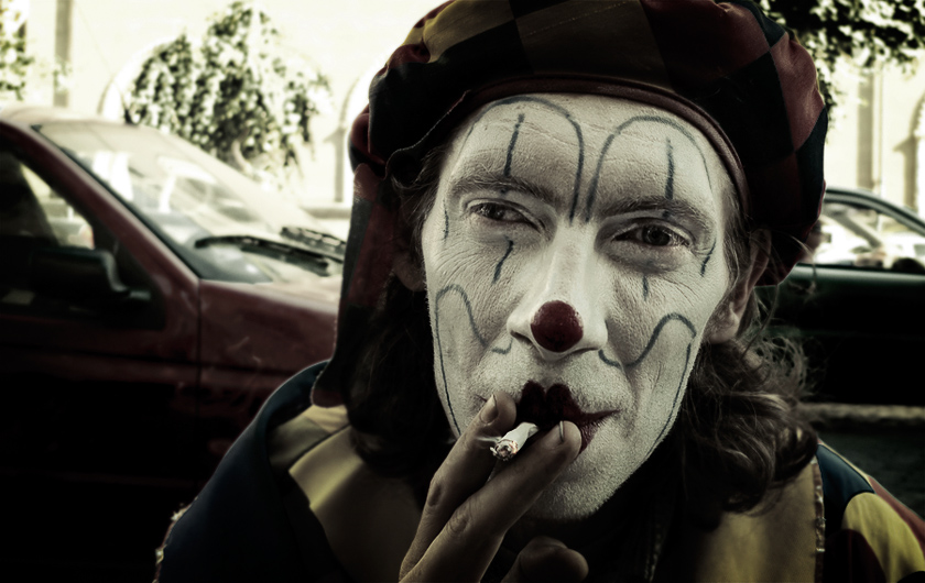 Smoking Clown