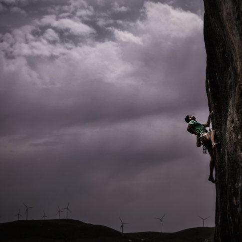 Roberto Limetta - warm-up route at colle dell'orso