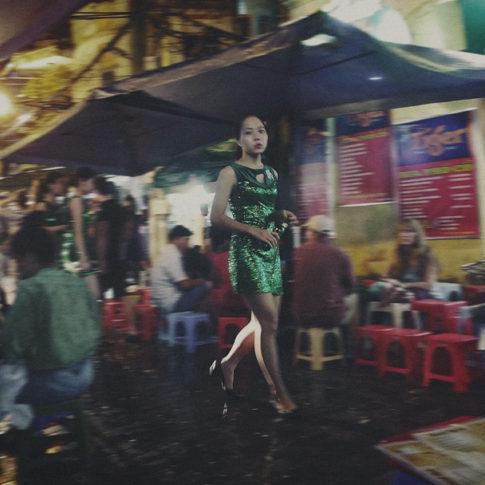 Hanoi street girl